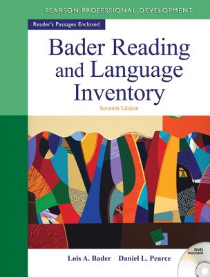 Bader Reading & Language Inventory By Bader, Lois A./ Pearce, Daniel L.